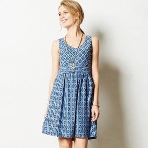 Anthropologie Maeve Lazuli Dress